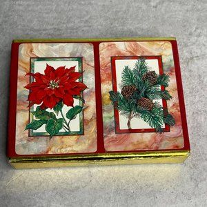 Vintage Christmas Congress playing cards Sealed